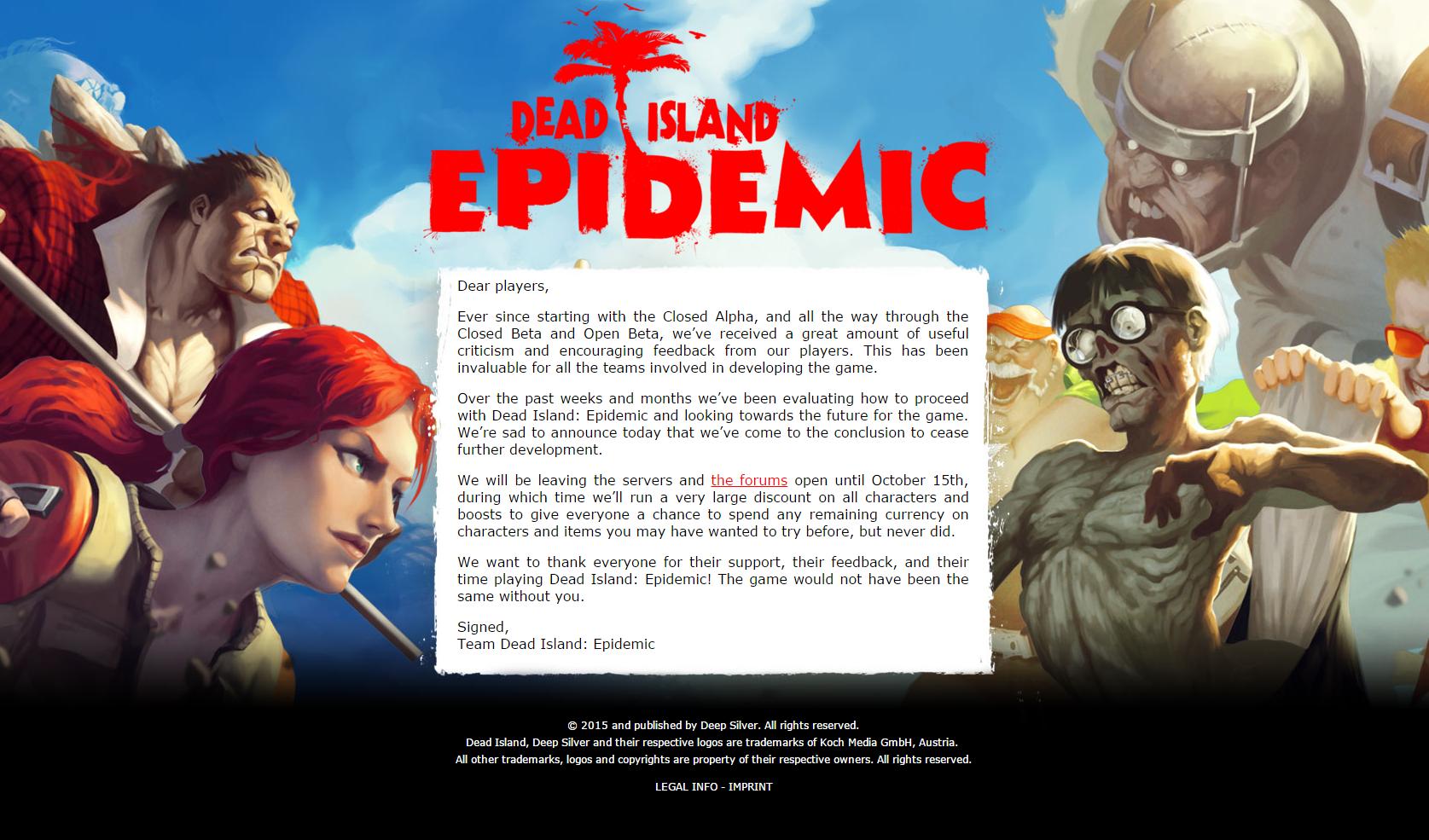 """C'est qui ce """"Team Dead Island : Epidemic"""" que je lui pète les rotules ?"""